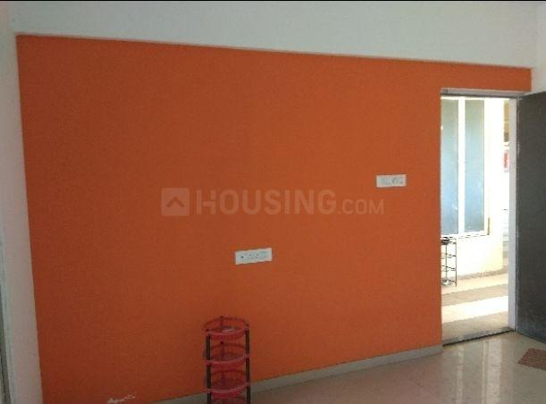 Living Room Image of 640 Sq.ft 1 BHK Apartment for rent in Vadgaon Budruk for 9000