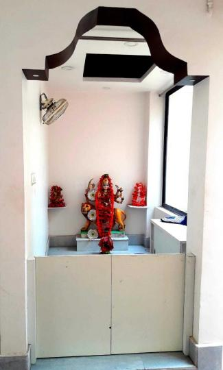 Pooja Room Image of 800 Sq.ft 2 BHK Apartment for rent in Birati for 8500