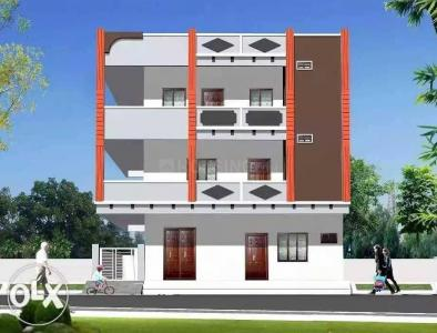 Gallery Cover Image of 650 Sq.ft 1 BHK Independent Floor for rent in Borabanda for 7500
