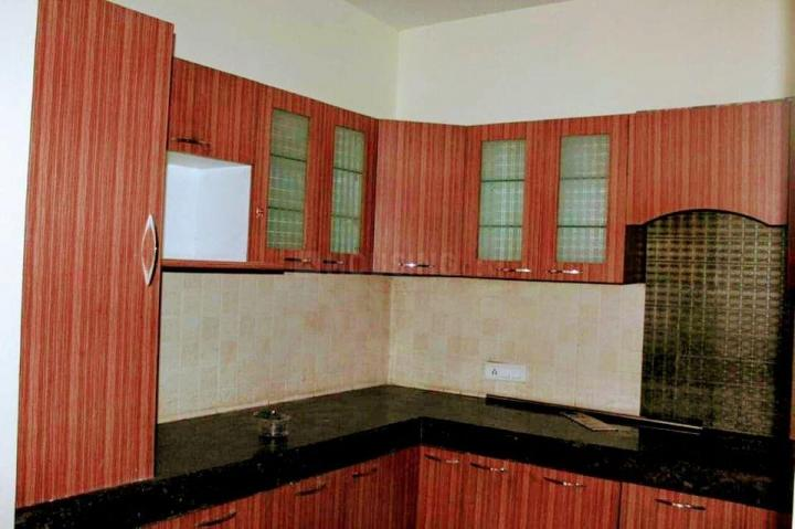 Kitchen Image of 1610 Sq.ft 3 BHK Apartment for buy in Exotica Eastern Court, Crossings Republik for 4800000