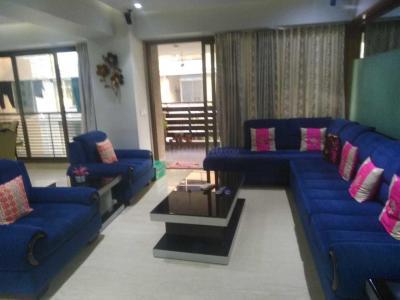 Living Room Image of 1800 Sq.ft 3 BHK Apartment for buy in Bodakdev for 12500000