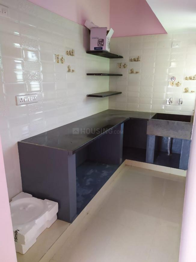 Kitchen Image of 3500 Sq.ft 1 BHK Independent Floor for rent in Kumaraswamy Layout for 8000