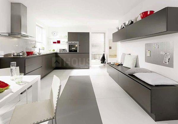 Kitchen Image of 1700 Sq.ft 3 BHK Apartment for buy in Whitefield for 10900000