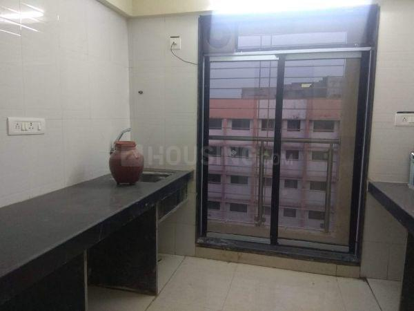 Kitchen Image of 723 Sq.ft 1 BHK Apartment for rent in Kurla West for 29000