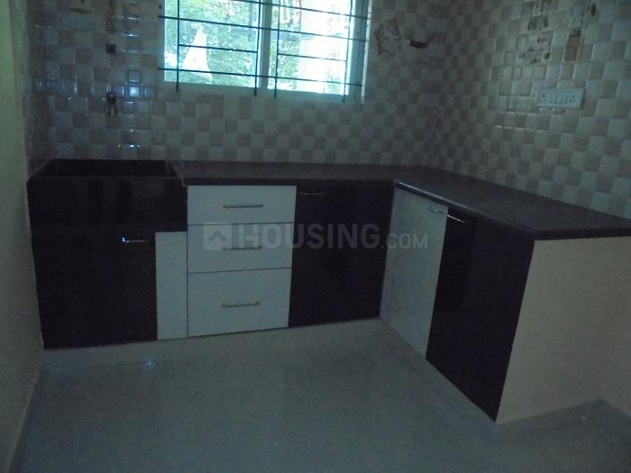 Kitchen Image of 650 Sq.ft 1 BHK Apartment for rent in Munnekollal for 16000