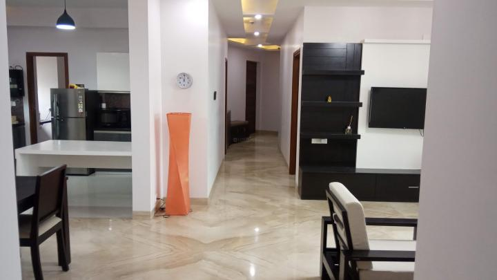 Living Room Image of 2400 Sq.ft 3 BHK Apartment for rent in Rajajinagar for 140000