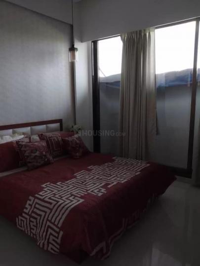 Bedroom Image of 1200 Sq.ft 2 BHK Apartment for rent in Kopar Khairane for 35000