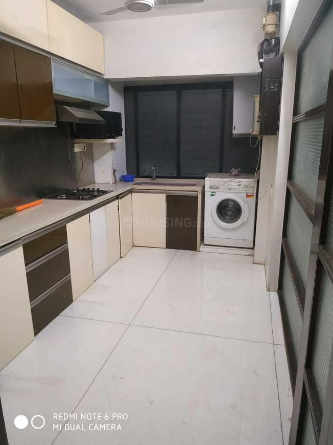 Kitchen Image of 650 Sq.ft 1 BHK Apartment for rent in Andheri East for 45000