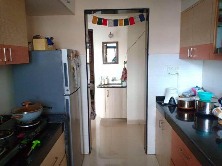 Kitchen Image of 960 Sq.ft 2 BHK Independent Floor for rent in Thane West for 32000
