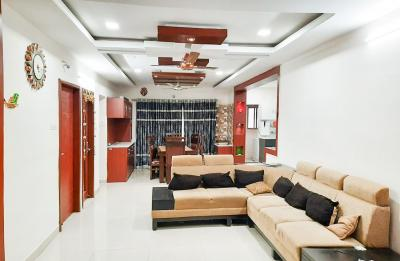 Gallery Cover Image of 1320 Sq.ft 3 BHK Apartment for rent in Miyapur for 45000