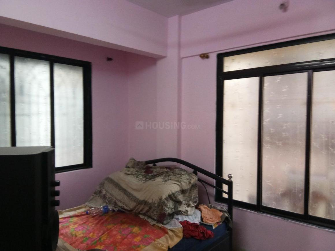 Bedroom Image of 675 Sq.ft 1 BHK Apartment for rent in Airoli for 18000