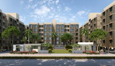 Gallery Cover Image of 646 Sq.ft 1 BHK Apartment for buy in Applewoods Estate Satyesh Residency, Shantipura for 1884000