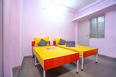 Bedroom Image of Oyo Campus Del1814 Katwaria Sarai (males Only) in Katwaria Sarai