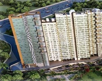 Gallery Cover Image of 1210 Sq.ft 2 BHK Apartment for buy in Aadi Allure Wings A To E, Bhandup East for 16100000