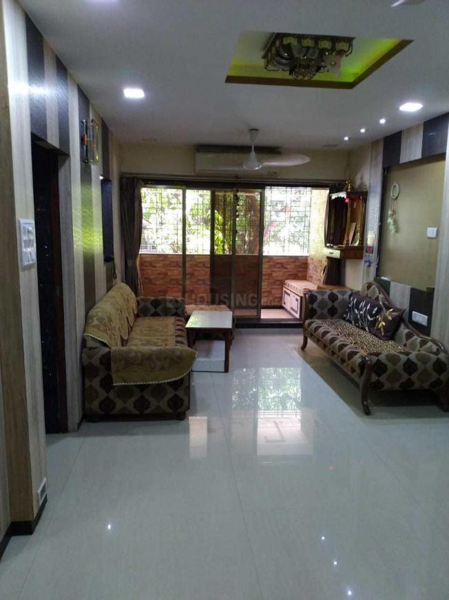 Living Room Image of 1100 Sq.ft 2 BHK Apartment for rent in Borivali East for 34000