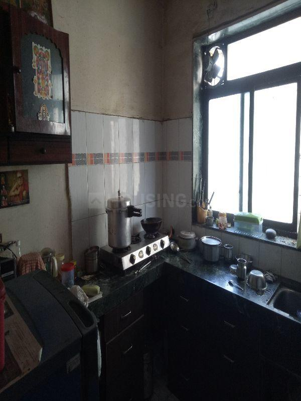 Kitchen Image of 510 Sq.ft 1 BHK Apartment for buy in Kalwa for 3500000