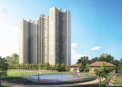 Gallery Cover Image of 597 Sq.ft 1 BHK Apartment for buy in Lodha Quality Home, Thane West for 4900000