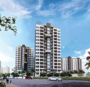 Gallery Cover Image of 684 Sq.ft 2 BHK Apartment for buy in Sumeru Navjyot Abha Phase I, Narhe for 3690441