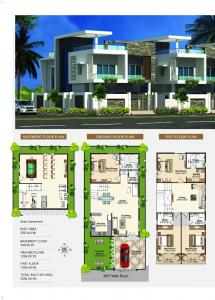 Gallery Cover Image of 3292 Sq.ft 4 BHK Villa for buy in Bandlaguda Jagir for 20000000