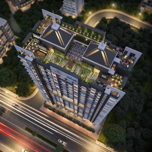 Gallery Cover Image of 574 Sq.ft 1 BHK Apartment for buy in Oxford Navrang Oasis, Goregaon West for 10191000