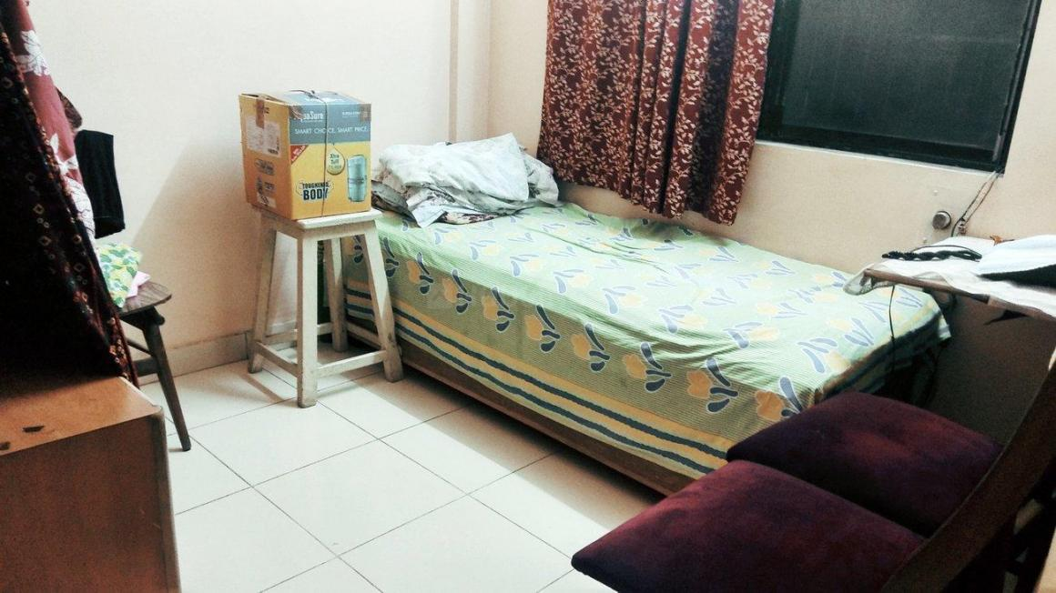 Bedroom Image of 600 Sq.ft 2 BHK Apartment for rent in Borivali West for 26000