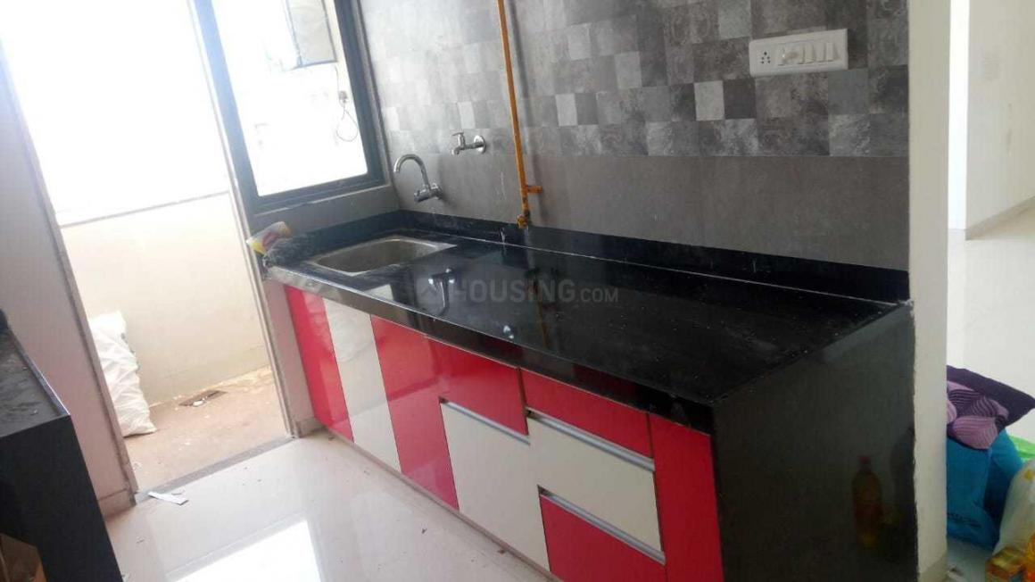 Kitchen Image of 1152 Sq.ft 2 BHK Apartment for rent in Thaltej for 21000