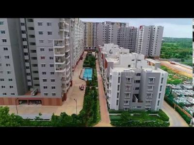 Gallery Cover Image of 1150 Sq.ft 3 BHK Apartment for rent in Ramky One North, Yelahanka for 21500
