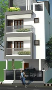 Gallery Cover Image of 600 Sq.ft 1 BHK Independent House for rent in Velachery for 20000