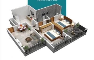 Gallery Cover Image of 665 Sq.ft 1 BHK Apartment for buy in Om Vasant Vatika, Kalyan East for 4150000