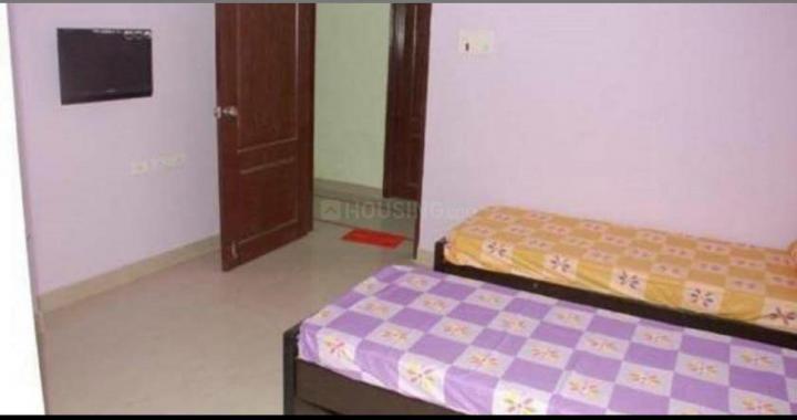 शेख सराई में वर्मा पीजी के बेडरूम की तस्वीर