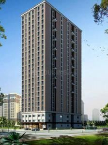 Gallery Cover Image of 550 Sq.ft 1 BHK Apartment for rent in Lalani Grandeur, Malad East for 34000