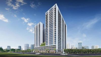 Gallery Cover Image of 595 Sq.ft 1 BHK Apartment for buy in Rustomjee Bella, Bhandup West for 10800000