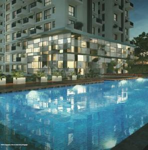 Gallery Cover Image of 760 Sq.ft 1 BHK Apartment for buy in Godrej Air Nxt, Hoodi for 6100000