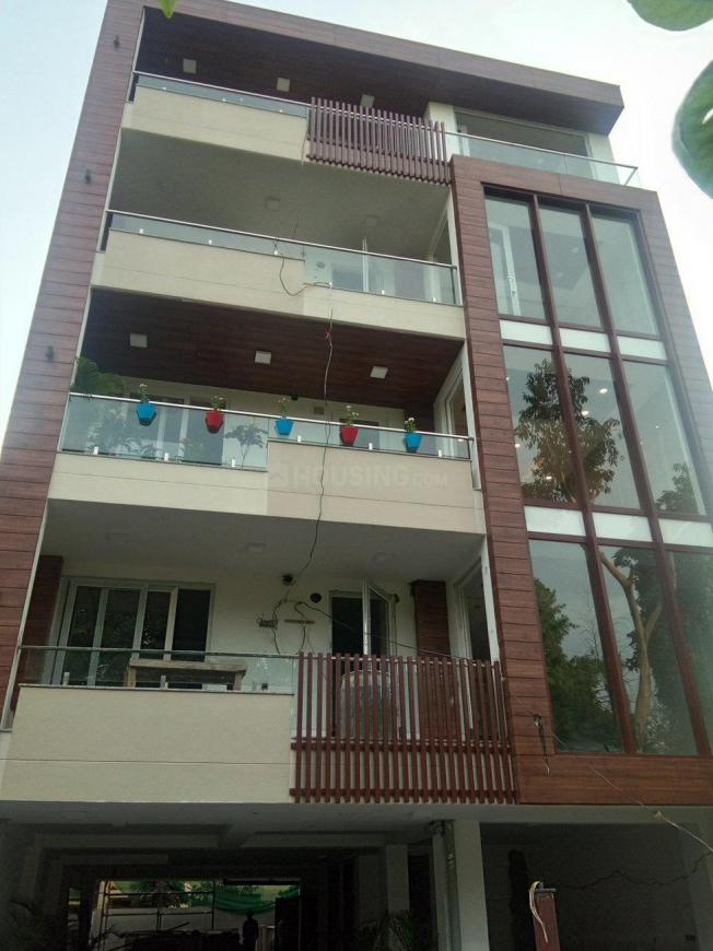 Building Image of 1935 Sq.ft 3 BHK Independent Floor for rent in Sushant Lok I for 45000