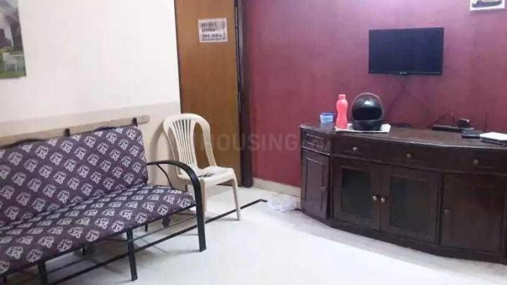 शांति नगर में जीएसएस पीजी फॉर बॉइज़ में लिविंग रूम की तस्वीर