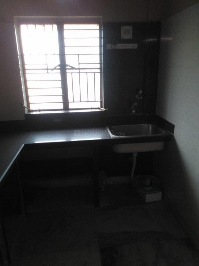 Kitchen Image of 800 Sq.ft 1 BHK Independent House for rent in Paschim Putiary for 6500