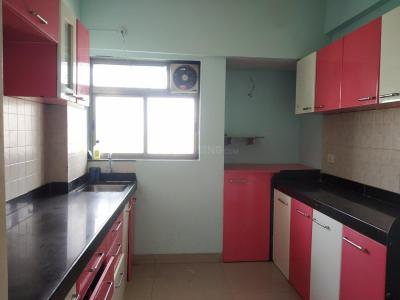 Gallery Cover Image of 644 Sq.ft 1 BHK Apartment for rent in Kasarvadavali, Thane West for 14000