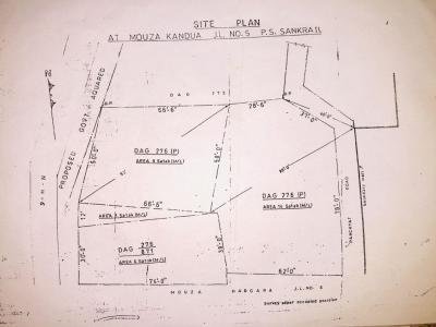 11160 Sq.ft Residential Plot for Sale in Dhulagori, Howrah