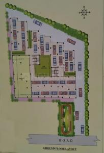 Gallery Cover Image of 1032 Sq.ft 3 BHK Apartment for buy in Nirmala Sharanam, Bangur Avenue for 4635000