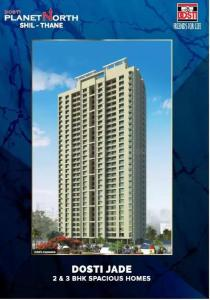 Gallery Cover Image of 643 Sq.ft 2 BHK Apartment for buy in Dosti Planet North, Mumbra for 6400000