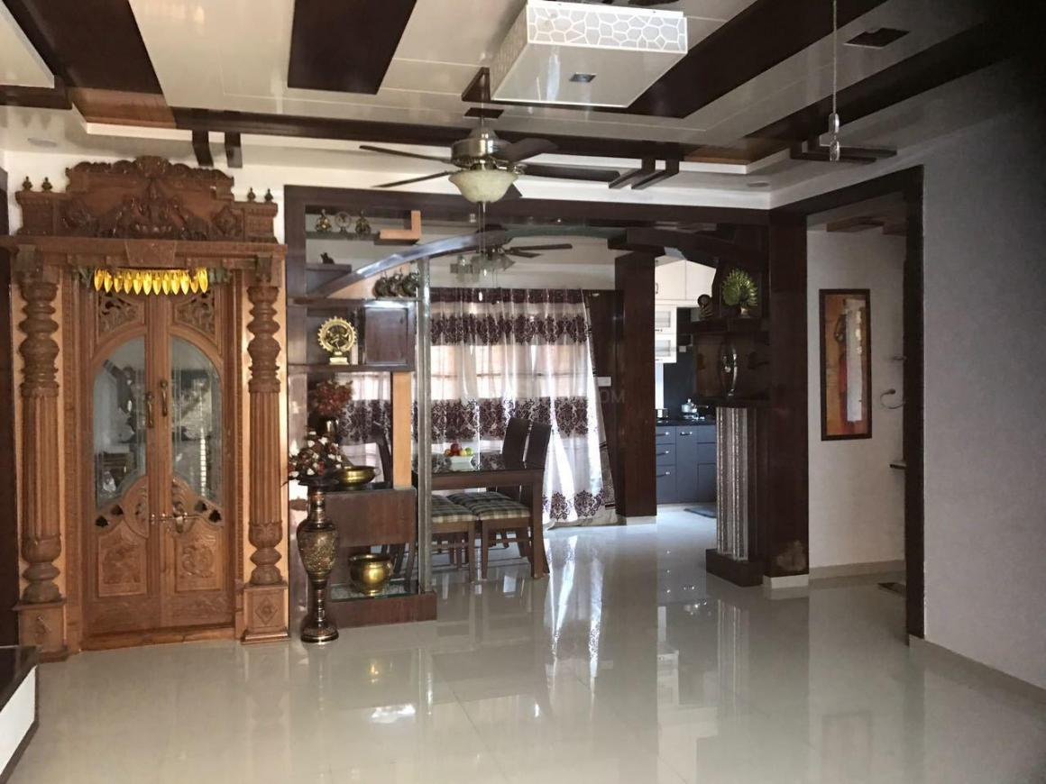 Living Room Image of 1500 Sq.ft 3 BHK Apartment for rent in Horamavu for 38000