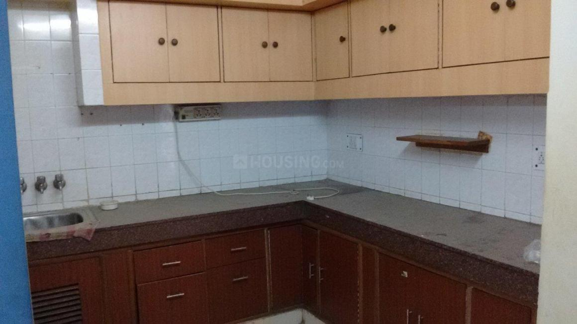 Kitchen Image of 600 Sq.ft 1 BHK Independent Floor for rent in Sector 62 for 11000