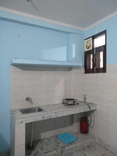 महिपालपुर में गोपाल पीजी में किचन की तस्वीर