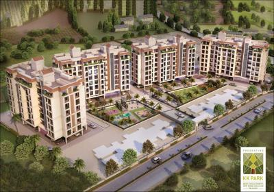 Gallery Cover Image of 690 Sq.ft 1 BHK Apartment for buy in K K Park Phase I, Tembhode for 2587500