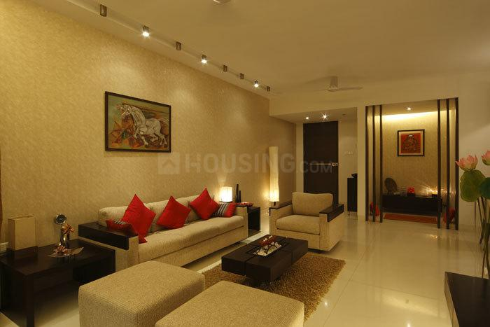 Living Room Image of 545 Sq.ft 1 BHK Apartment for rent in Thane West for 13500