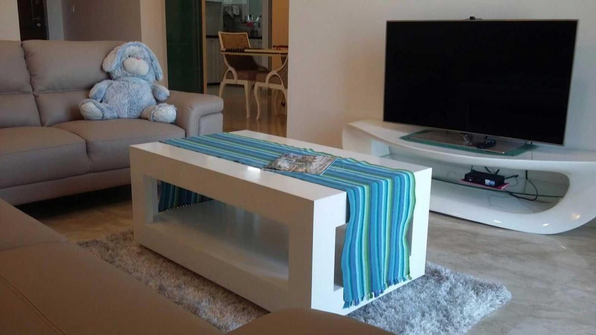 Living Room Image of 1755 Sq.ft 3 BHK Apartment for rent in Powai for 130000