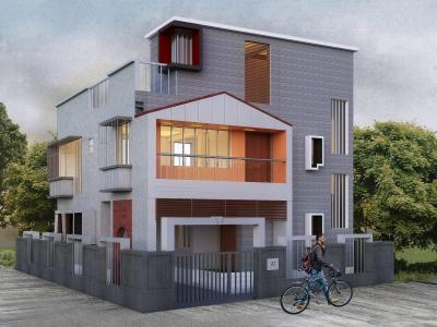 Gallery Cover Image of 1278 Sq.ft 3 BHK Villa for buy in Gopalmath for 3350000