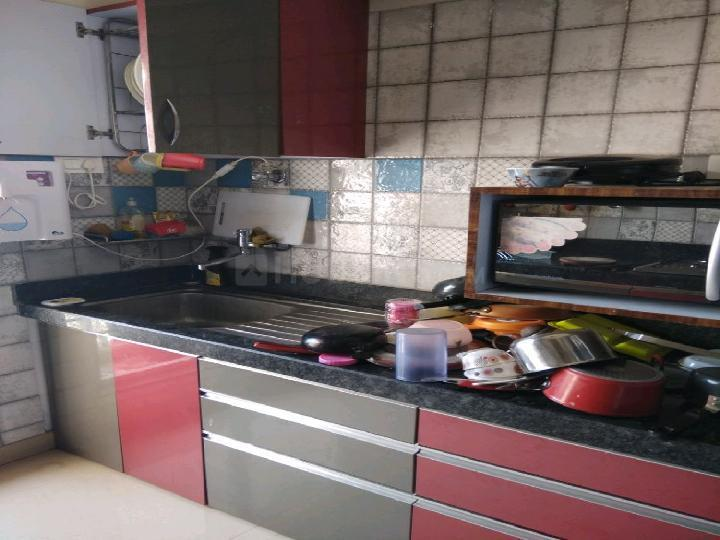 Kitchen Image of 1600 Sq.ft 3 BHK Apartment for rent in Kharghar for 50000