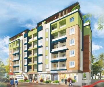 Gallery Cover Image of 540 Sq.ft 1 BHK Apartment for buy in Satyam Serenity B, Wadgaon Sheri for 3000000