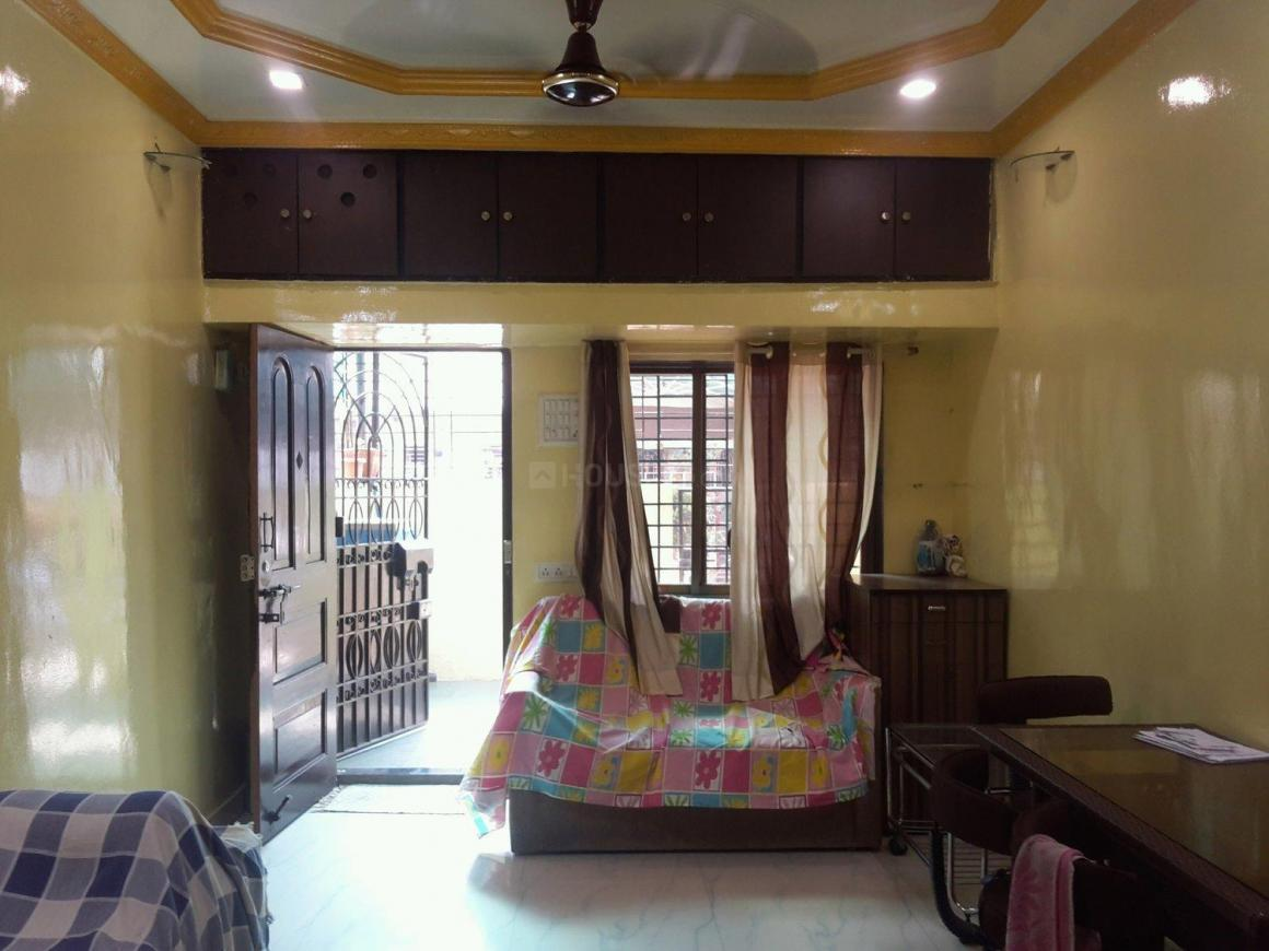Living Room Image of 850 Sq.ft 1 BHK Independent House for rent in Vashi for 23000